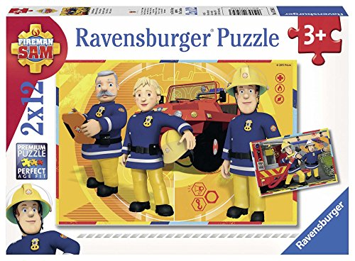 Ravensburger - 07584 - Puzzle - Sam En Intervention - 12 Pièces