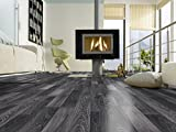 Laminatboden Kronotex Serie Dynamic; 8 mm stark; D 2955 Black and White; AC 4; 2-Stab; 2,131 / Karton