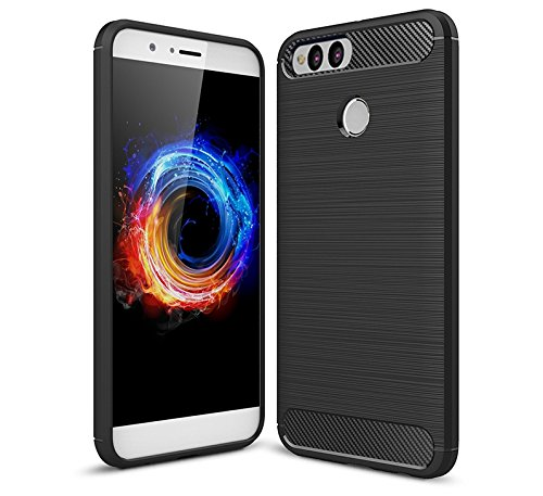 Bracevor Inner TPU Leather Flip Cover Case for Huawei Honor 7X