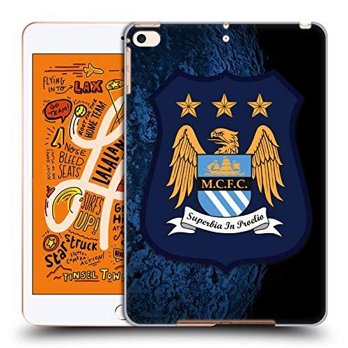 Head Case Designs Offizielle Manchester City Man City FC Away Kit Kit Crest Harte Rueckseiten Huelle kompatibel mit iPad Mini (2019) -