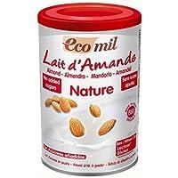 EcoMil almendra Orgánica leche en polvo sin azúcar añadido ...
