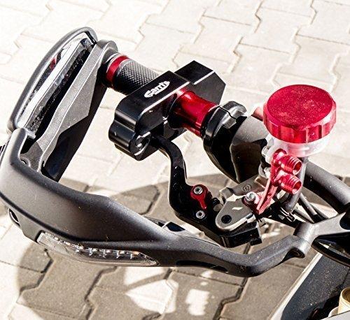 Preisvergleich Produktbild CNC Alu Bremshebelschloß Schloß Sicherung für Bremshebel schwarz