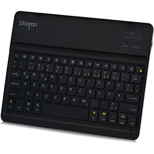 it integrierter Bluetooth-Tastatur für  Galaxy Tab S 10.5 Kompatibel mit SM-T800, SM-T805  (deutsches QWERTZ Layout) ()