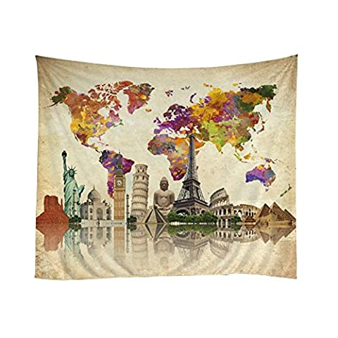 Cocohot National Characteristics Mystery Culture Creative Design Tapestries, Space Decorations Collection, Living Room Dorm Wall Hanging Tapestry,