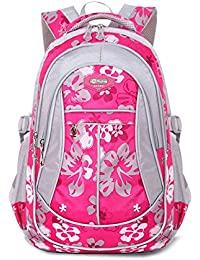 Childrens Backpacks School Bags For Girls Backpack Shoulder Bag Kids Backpacks -Rose