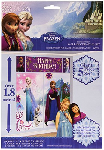 Amscan International Frozen Scene Setter by Disney Frozen