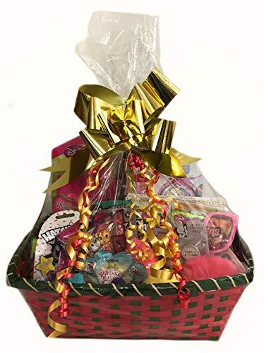 Kooky Kids Große Luxus-Geschenk-Spielzeug Bundle Geschenkkorb für Mädchen Weihnachten oder Geburtstag mit gefrorenen Glitzi Globes, Hatchimals LOL, My Little Pony & More