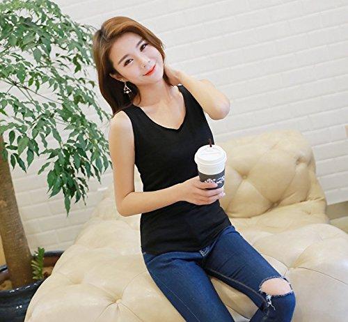Leisial - Sweat-shirt spécial grossesse - Femme Noir