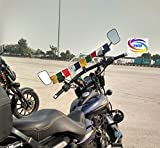 #9: Genxtra® Velvet Tibetan Buddhist Prayer Flags (Bike-Big)