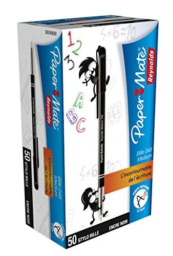 papermate-papermate-by-reynolds-stylo-a-bille-048-noir