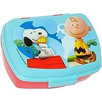 Preisvergleich für alles-meine.de GmbH Lunchbox / Brotdose - Peanuts / Snoopy - Brotbüchse Küche Essen - für Mädc..
