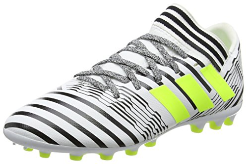 adidas Nemeziz 17.3 Ag J, Botas de Fútbol Unisex Niños, Blanco (Ftwb