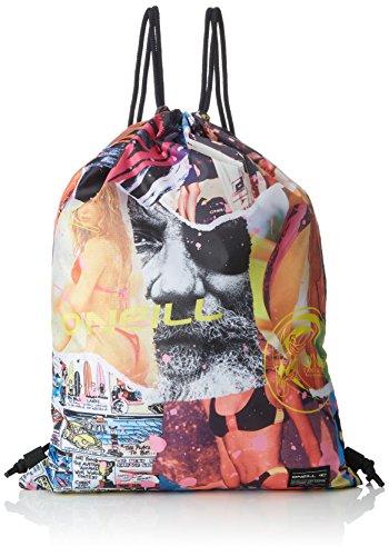O\'Neill Herren Bm Photoprint Gymsack Bags & Wallets, White AOP, 46 x 3 x 34 cm
