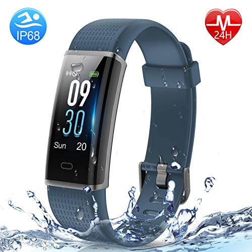 HolyHigh Fitness Tracker Smart Watch- 130C Gray