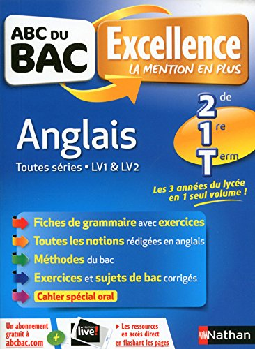 ABC du BAC Excellence Anglais 2de/1re/Term par Christelle Brouteele-Guille