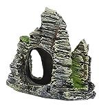 perfk Aquarium Felsen mit Höhle Aqua Ornaments