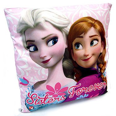 Disney – Frozen: El Reino del Hielo – Cojín Elsa y Anna – 35 x 35 cm por Hunter Price