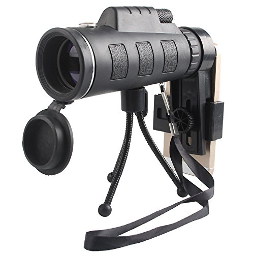 WH 40X60 Mobiles Teleskop High - Definition High - Brightness Grünes Film - Teleskop Low - Light Nachtsicht Fernglas,EIN