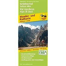 Grödnertal, Seiser Alm / Val Gardena, Alpe di Siusi: Wander- und Radkarte mit Ausflugszielen & Freizeittipps, wetterfest, reißfest, abwischbar, GPS-genau. 1:35000 (Wander- und Radkarte / WuRK)