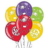 Amscan-International-9901383-28-cm-Teletubbies-4-seitige-Latex-Ballon