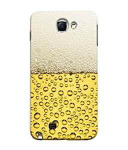 PrintVisa Bubbles at The Top 3D Hard Polycarbonate Designer Back Case Cover for Samsung Galaxy Note 2 :: Samsung Galaxy Note Ii N7100