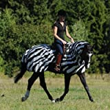 Bucas Buzz-Off Riding Zebra - Ausreitdecke, Groesse:145
