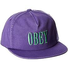 dcc443a0e70ed Obey Hombres Gorra de béisbol