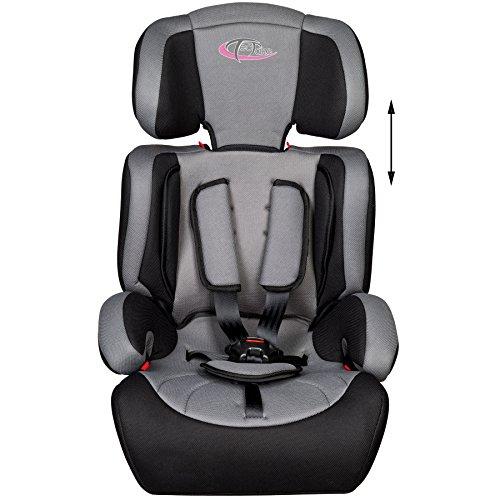 Opiniones de tectake silla de coche para ni os grupos 1 2 3 pesos de 9 36 kg negro gris - Normativa sillas de coche para ninos ...