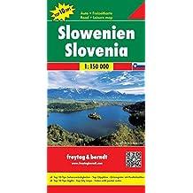 Slowenien, Autokarte 1:150.000, Top 10 Tips, Freytag Berndt Autokarten (freytag & berndt Auto + Freizeitkarten)
