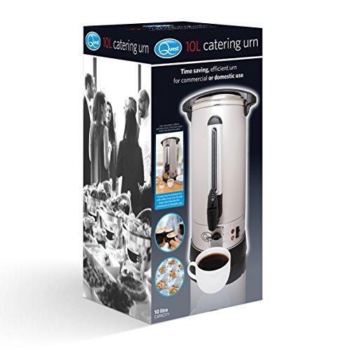 Quest Benross Quest Catering Water Urn, 10 Litre, 1500 Watt