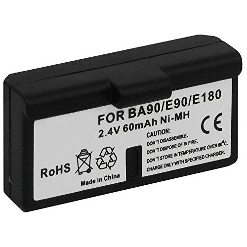 Ersatz-Akku BA-90 für Sennheiser Audioport A1, E90, E180 (Set 180), HDE 1030 / HDI 91, 92... / RI 200, RI 300... - s. Liste