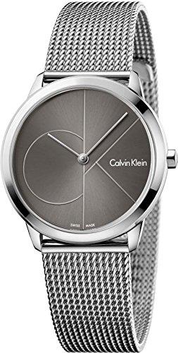 Calvin Klein Homme Analogique Quartz Montre avec Bracelet en Acier Inoxydable K3M22123