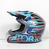 Casque Moto Cross Marvin 2 Bleu Taille XL