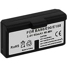 Batería BA-90 para auriculares inalámbricos Sennheiser Audioport A1, E90, E180 (Set 180), HDE 1030 / HDI 91, 92... / RI 200, RI 300... - v. lista