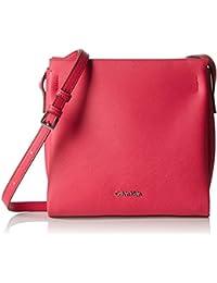 Calvin Klein M4RISSA Flat Crossbody, Bolsa para Mujer, 22x7x23 cm (b x h x t)