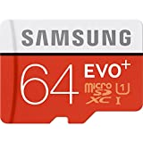 Samsung 64 GB EVO PLUS Class 10 micro SDXC mit Adapter 80 MB/s (mb-mc64da/AM)