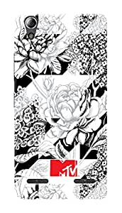 MTV Gone Case Mobile Cover for Lenovo A6010 Plus