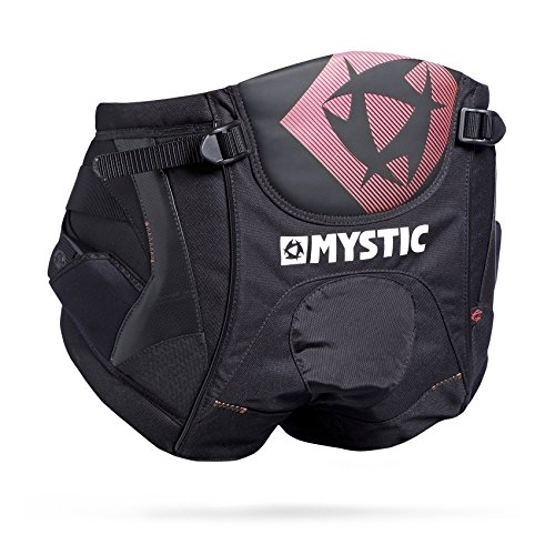 Mystic Trapez Star Windsurf Seat Harness Sitztrapez black/red 2017 Windsurfen - Größe: XXS