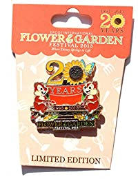 Epcot International Flower & Garden Festival 2013 Pin: Chip'n Dale