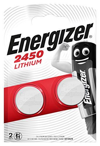 Energizer 2450 Lithium Knopfzelle, 2 Stück -