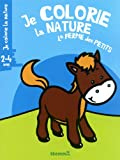 je colorie la nature la ferme des petits 2 4 ans cheval