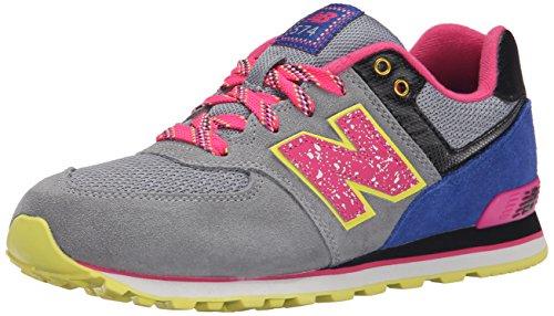 New Balance KL574 Kinder Schuhe Grau-Rosa