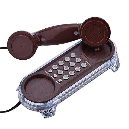 Retro Teléfono Fijo con Cable