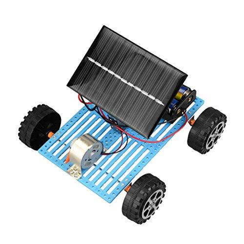 F Fityle Giocattolo di Esperimento Scientifico Giocattoli Educativi per Bambini Studenti, Batteria Solare Ibrida Auto Lunar Rover Model, Classe Teachchoo