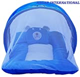 #4: Nagar Toddler Baby soft Mattress Blue with Mosquito net