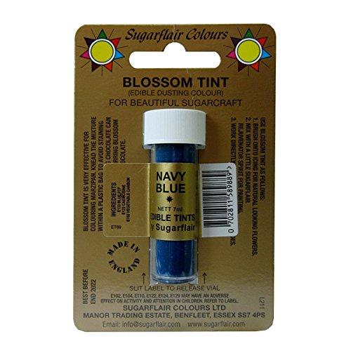 Sugarflair Navy Blue Edible Blossom Tints Food Colour Colouring Dust Powder Blossom Navy