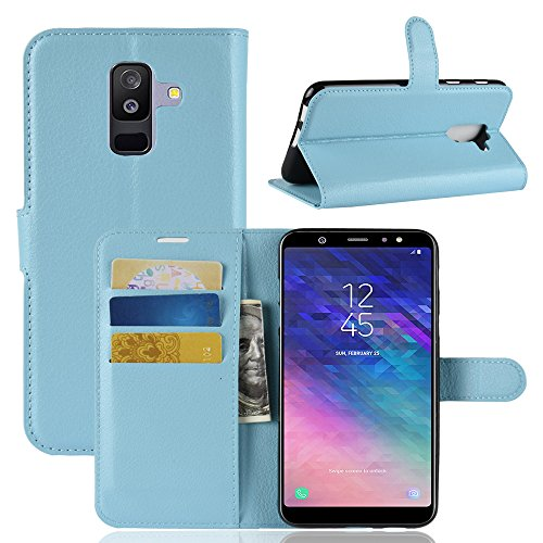 Funda   Capirotazo Billetera Samsung Galaxy J8 Plus  Azul