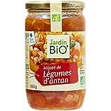 Jardin Bio Mijoté de Légumes d'Antan 650 g -