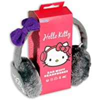 HELLO KITTY EARMUFFS GREY - AC