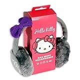"""Hello Kitty """"Cosy Kitty"""" Audio Ohrenschützer Ohrenwärmer Kopfhörer im Earmuff Design mit Flauschigen Ohrmuscheln und Abnehmbarem Audiokabel mit 3"""